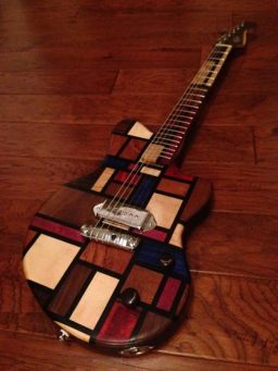 Rob Baker Makes Guitars Look Like Everything From AK-47s To Slurpees And It's Not Even His Full Time Job
